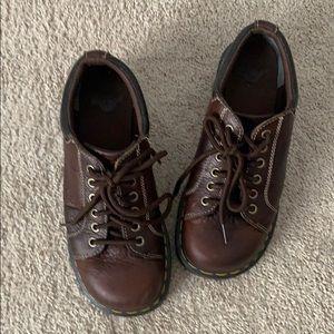 Dr. Martens classic lace up boots. Melissa